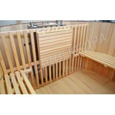 Стол для купели из Алтайского кедра